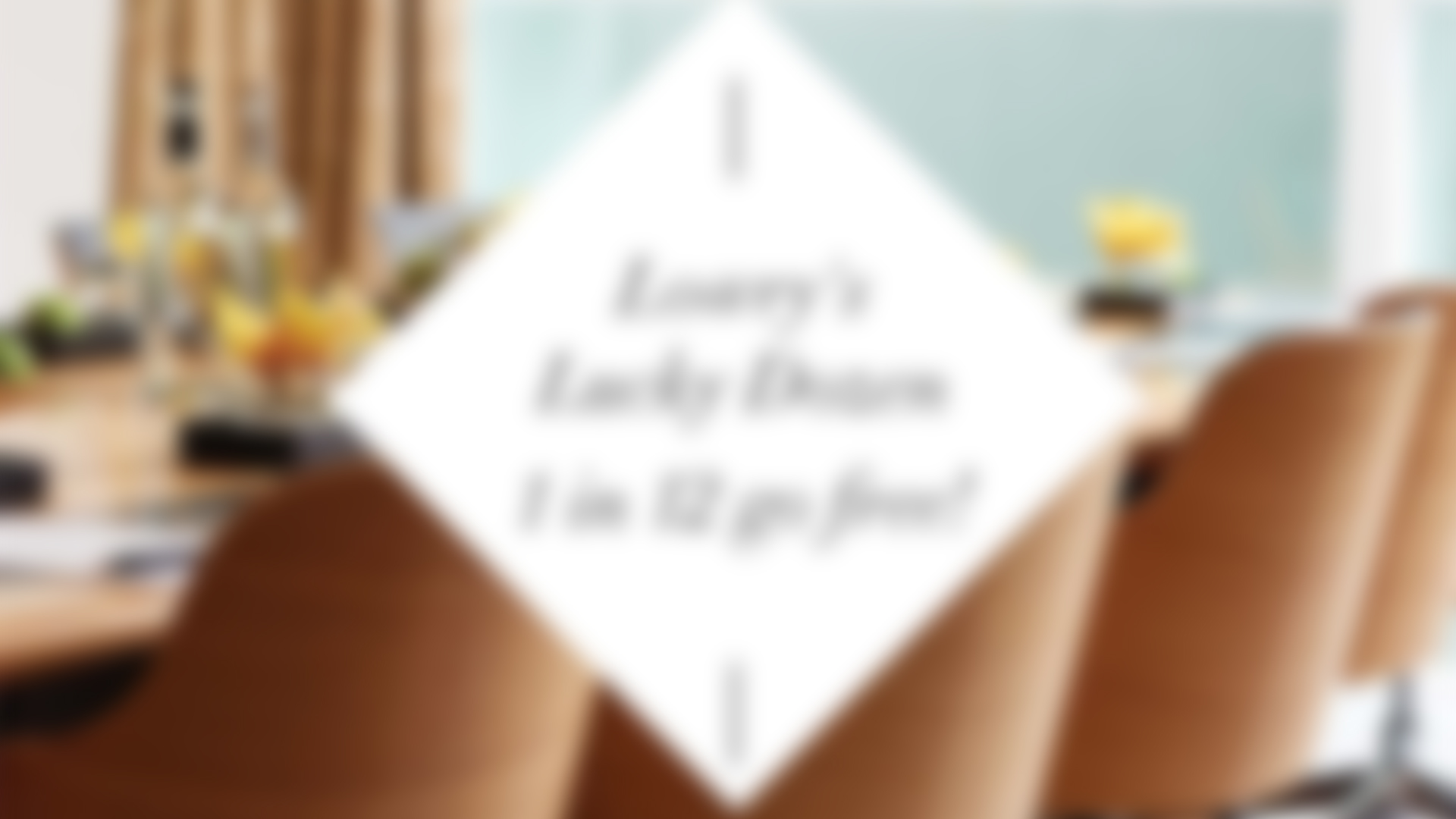 Lowry's Lucky Dozen: 1 in 12 go free!