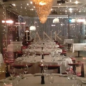 Private Rooms (Capacity 100 guests - 10 round tables of 10)