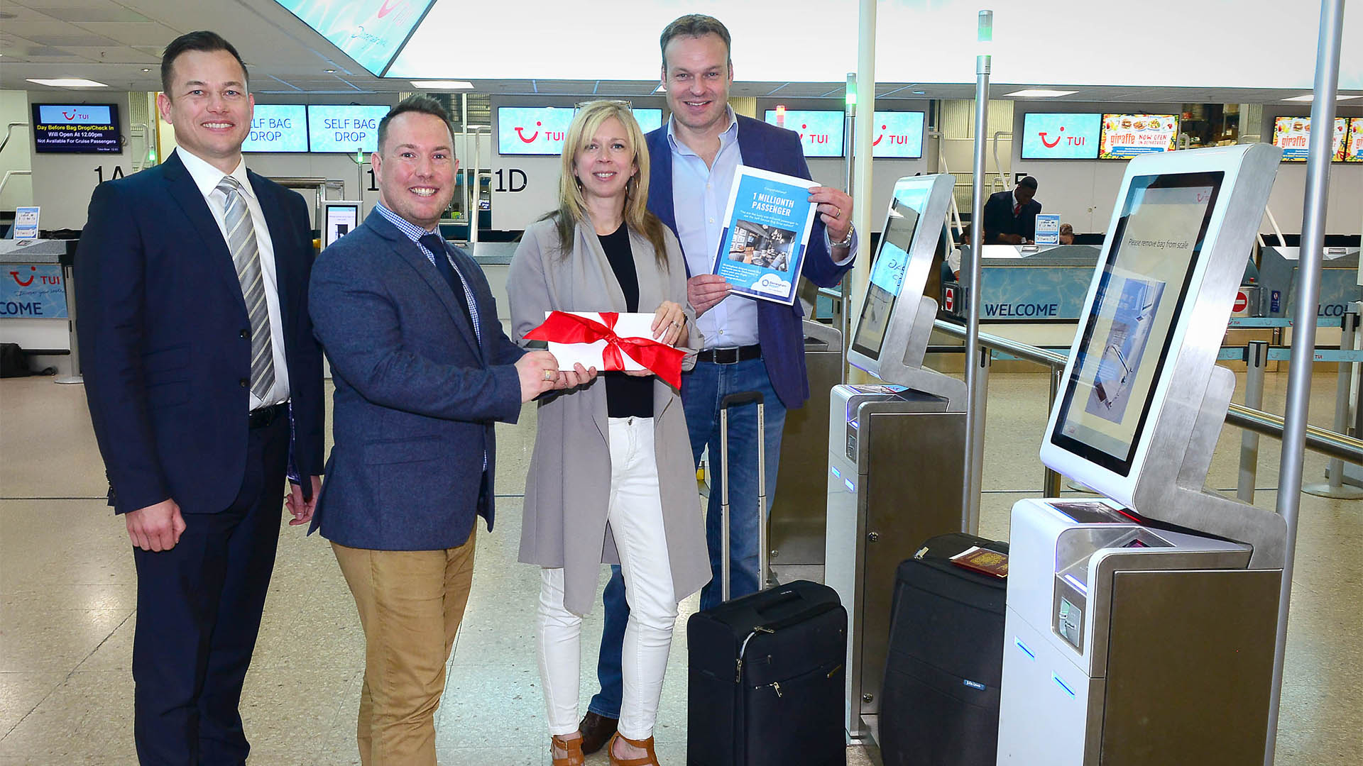 Birmingham Airport S Self Service Bag Drop Reaches One Millionth Passenger Milestone Downtown In Business