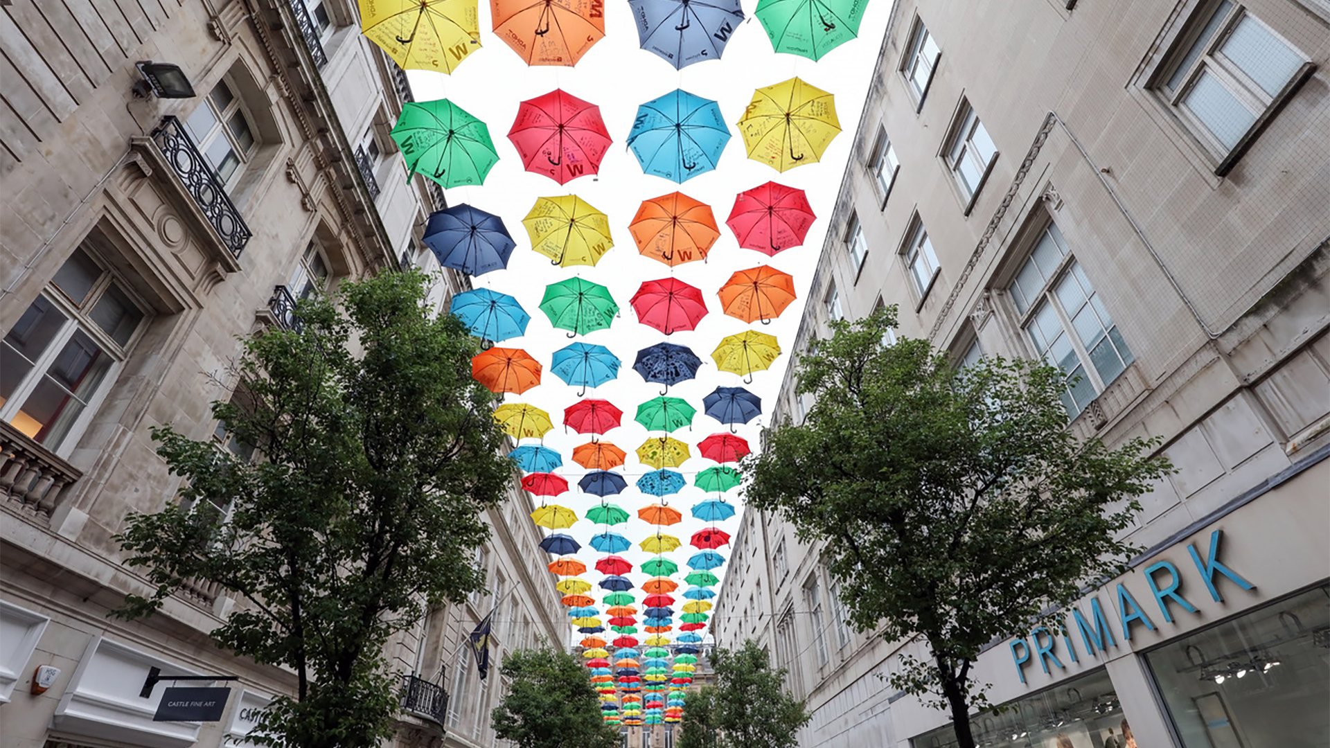 ADHD Foundation Umbrella Project returns to Liverpool street for the