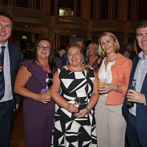 Steve Hunt and Associates 30th anniversary celebrations at St Georges Hall.