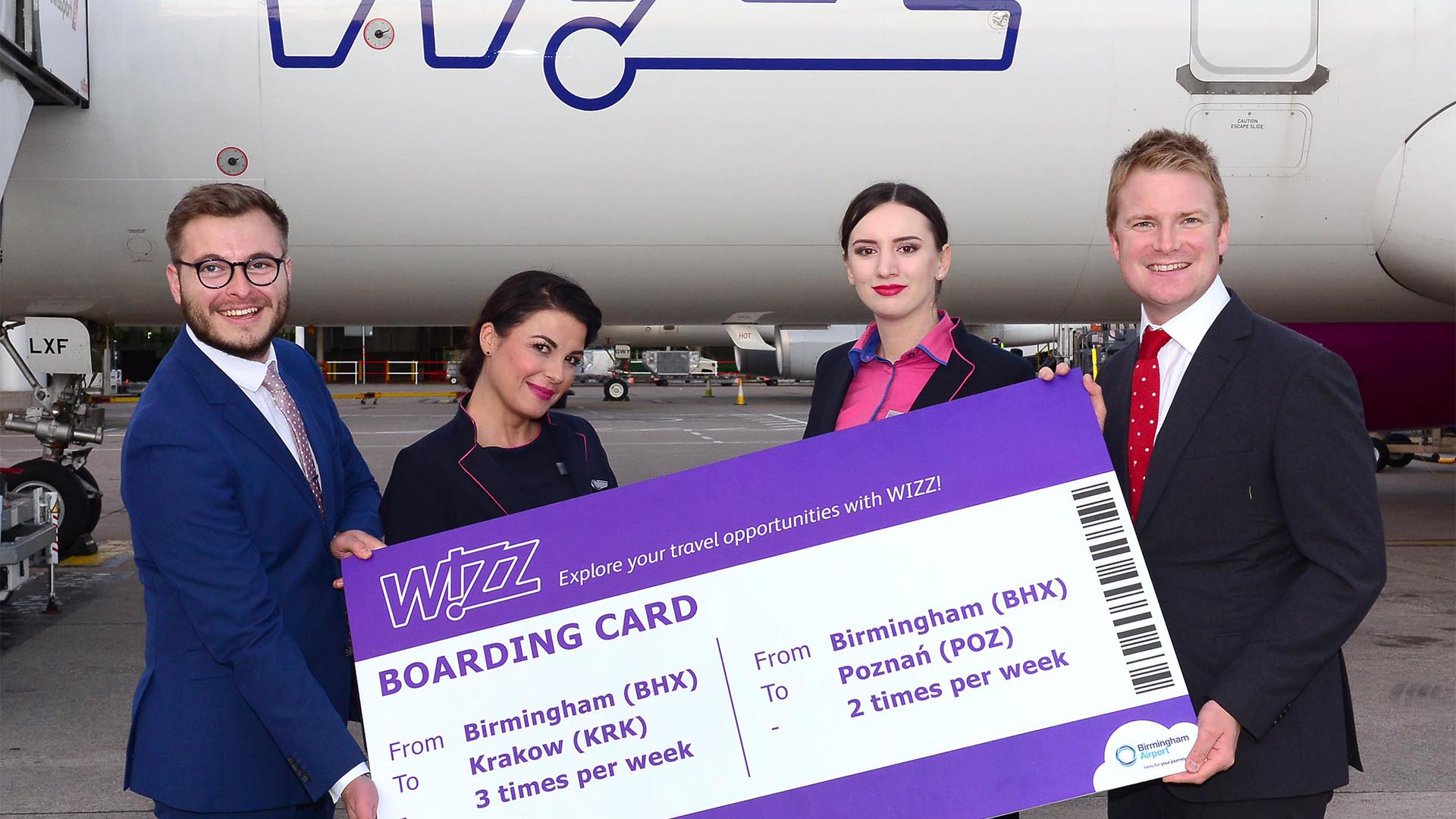 Wizz Air Launches Flights To Krakow Poznan From Birmingham Airport Downtown In Business