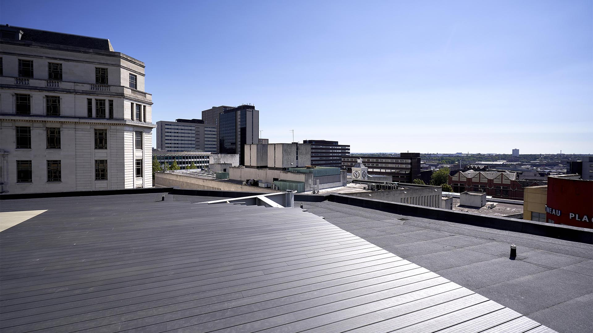 First Look Birmingham S Strike New Office Roof Terrace Downtown In Business