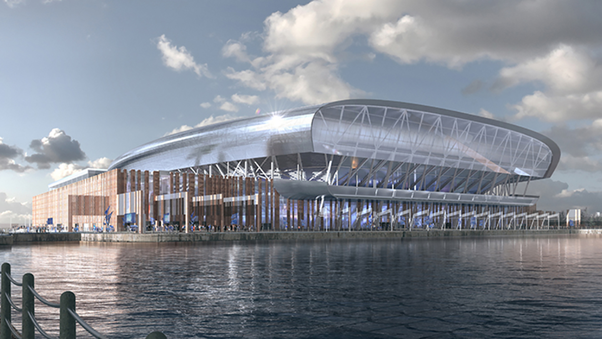 Everton Stadium received government planning approval
