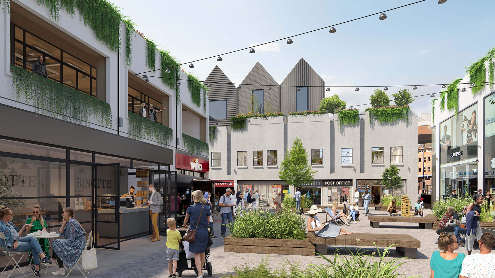 BRUNTWOOD WORKS AND TRAFFORD COUNCIL LAUNCH CONSULTATION AS THEY SHARE TRANSFORMATIONAL PLANS FOR THE STAMFORD QUARTER IN ALTRINCHAM TOWN CENTRE