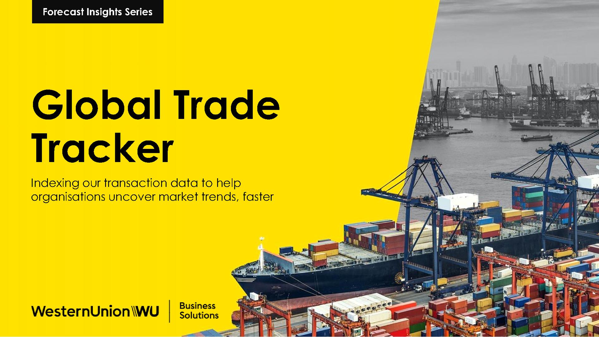 Global Trade Tracker – Helping you navigate international trade, faster