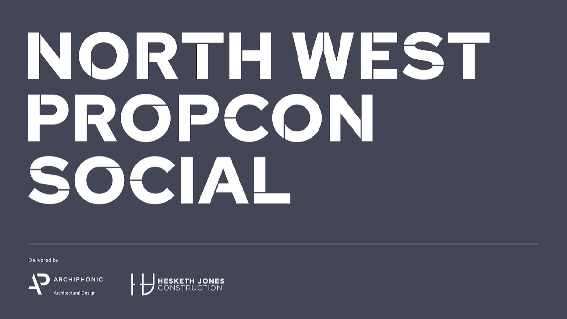 North West PropCon Social to host first live event