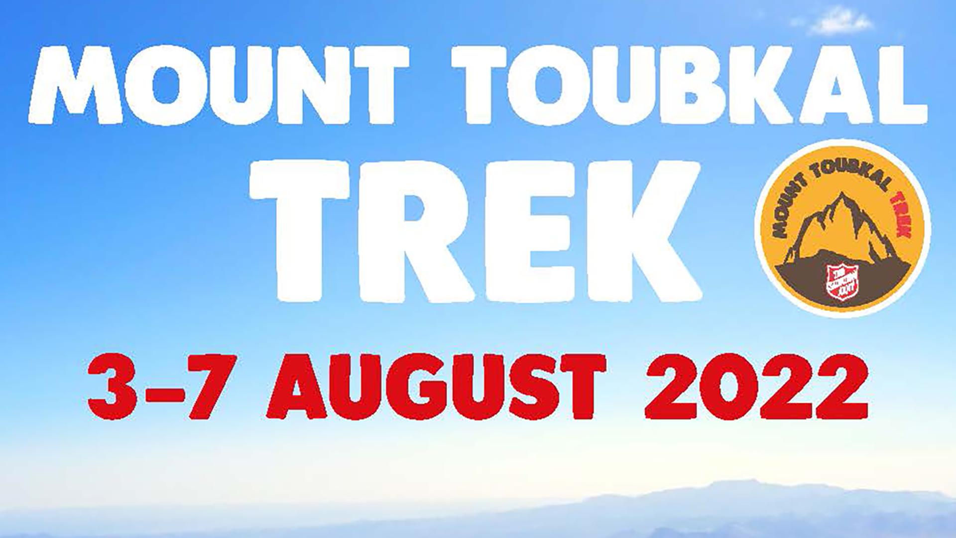 Mount Toubkal Trek 2022