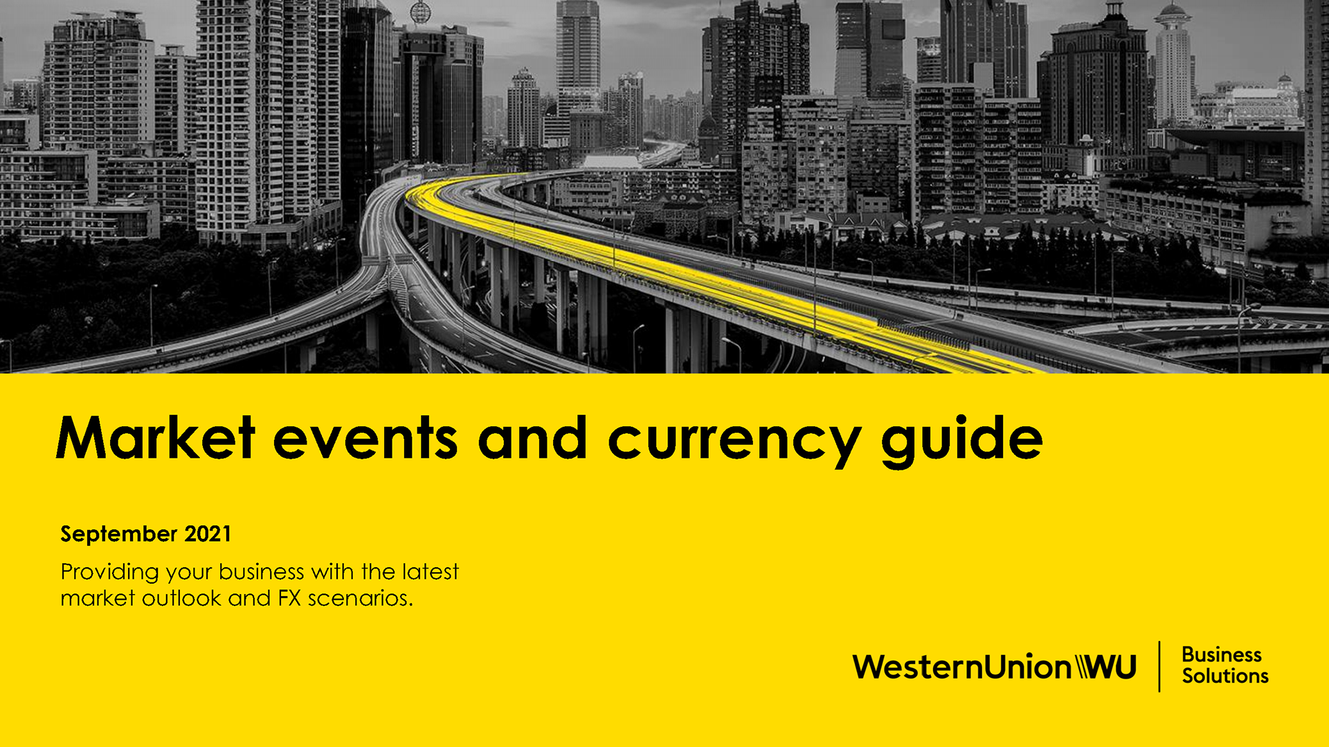 September Market Events and Currency Guide