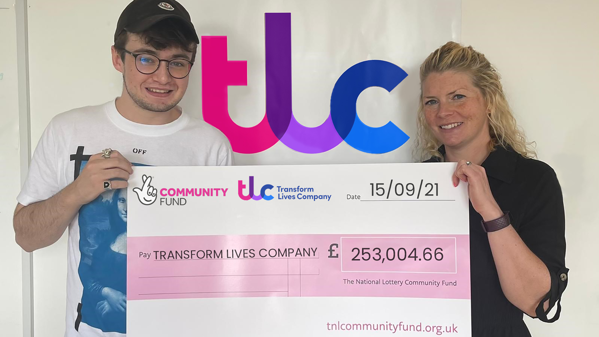 TRANSFORM LIVES COMPANY INVITES BUSINESSES TO ACT ON SOCIAL VALUE AMBITIONS FOLLOWING LOTTERY WIN